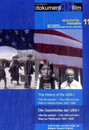 Die Geschichte der USA  / The History of the USA, 1 DVD. Tl.1