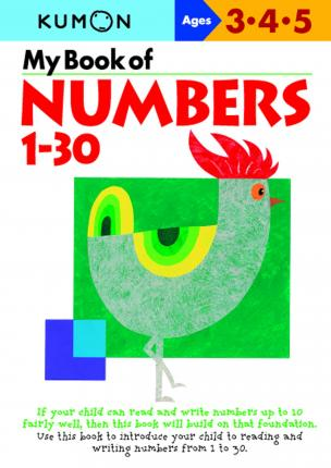 Kumon My Book Of Numbers 1-30