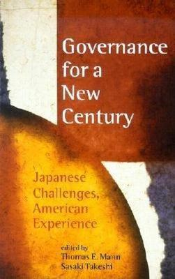 Governance for a New Century