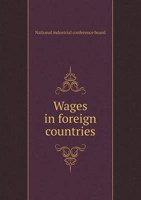 Wages in foreign countries