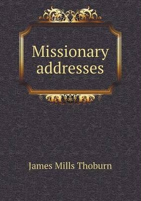 Missionary addresses