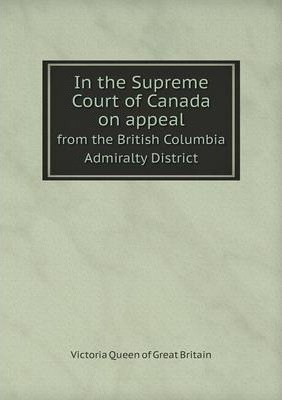 In the Supreme Court of Canada on appeal