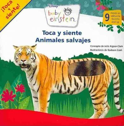 Toca y Siente Animales Salvajes / Touch and Feel Wild Animals