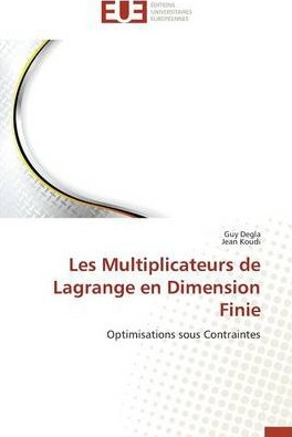 Les Multiplicateurs de Lagrange En Dimension Finie
