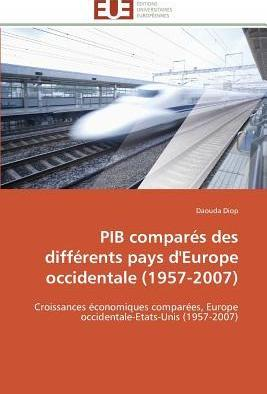 Pib Compares Des Differents Pays D'Europe Occidentale (1957-2007)