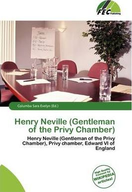 Henry Neville (Gentleman of the Privy Chamber)