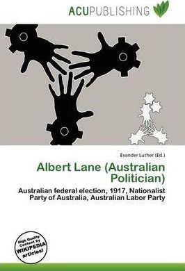 Albert Lane (Australian Politician)