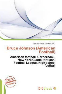 Bruce Johnson (American Football)