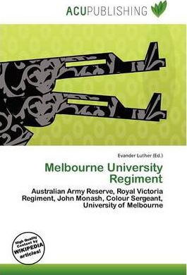Melbourne University Regiment