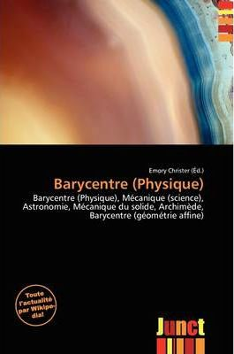 Barycentre (Physique)