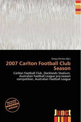 2007 Carlton Football Club Season