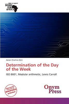 Determination of the Day of the Week