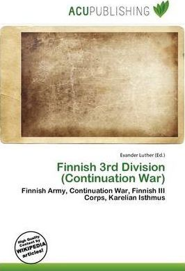 Finnish 3rd Division (Continuation War)