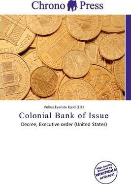 Colonial Bank of Issue