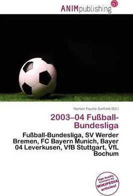 2003-04 Fu Ball-Bundesliga