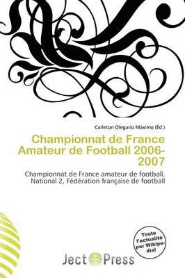 Championnat de France Amateur de Football 2006-2007