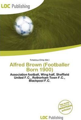 Alfred Brown (Footballer Born 1900)