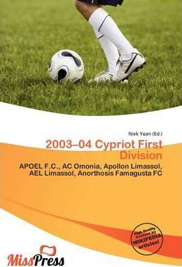 2003-04 Cypriot First Division