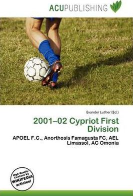 2001-02 Cypriot First Division