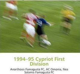 1994-95 Cypriot First Division