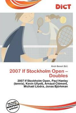 2007 If Stockholm Open - Doubles