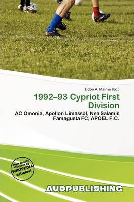 1992-93 Cypriot First Division