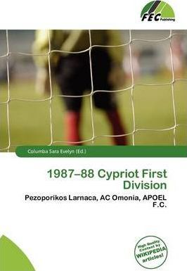 1987-88 Cypriot First Division