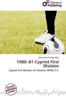 1980-81 Cypriot First Division