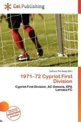 1971-72 Cypriot First Division