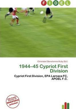 1944-45 Cypriot First Division