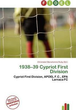 1938-39 Cypriot First Division