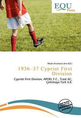 1936-37 Cypriot First Division