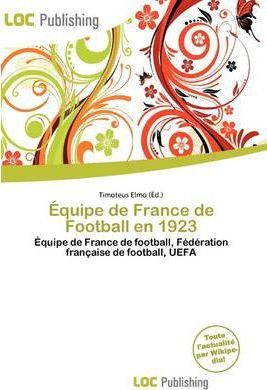Quipe de France de Football En 1923