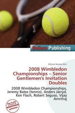 2008 Wimbledon Championships - Senior Gentlemen's Invitation Doubles