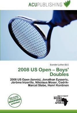 2008 Us Open - Boys' Doubles