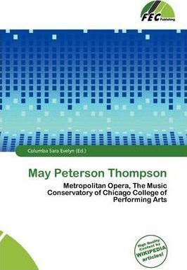 May Peterson Thompson