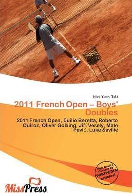 2011 French Open - Boys' Doubles
