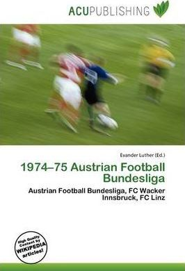 1974-75 Austrian Football Bundesliga