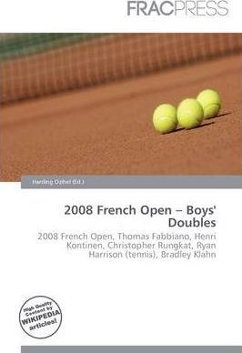 2008 French Open - Boys' Doubles