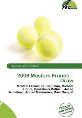 2008 Masters France - Draw