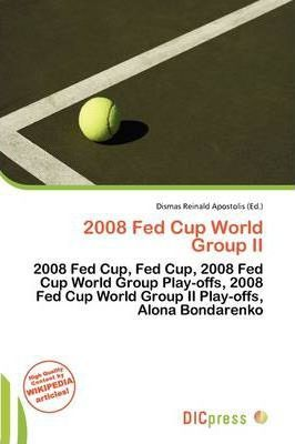 2008 Fed Cup World Group II