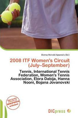 2008 Itf Women's Circuit (July-September)