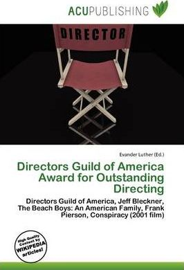Directors Guild of America Award for Outstanding Directing