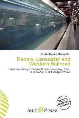 DePew, Lancaster and Western Railroad