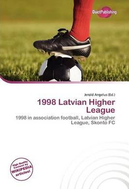 1998 Latvian Higher League