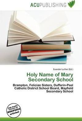 Holy Name of Mary Secondary School