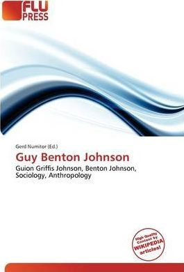 Guy Benton Johnson