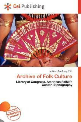 Archive of Folk Culture