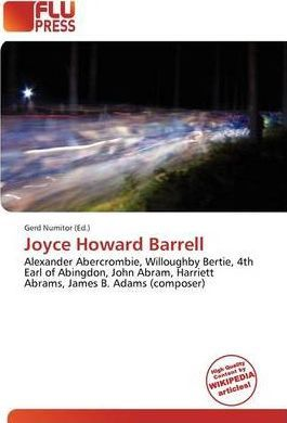 Joyce Howard Barrell