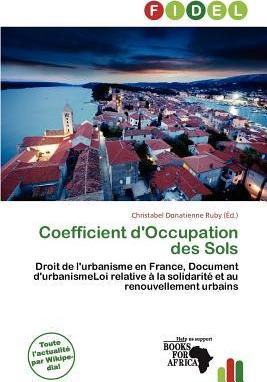 Coefficient D'Occupation Des Sols